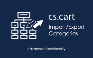 CS-Cart Import/Export Categories