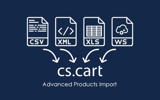 CSCart Super Import (csv, xml, url)